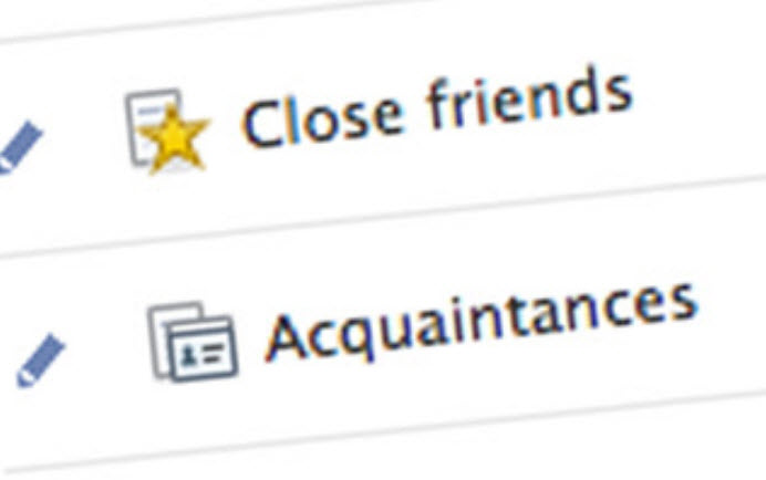 When Friends Become Acquaintances