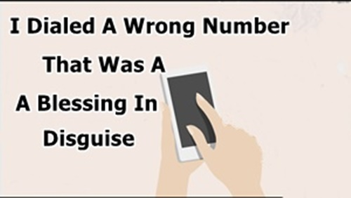 A Wrong Number Turns Into A Blessing